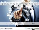 2015/2016 A/L Communication and Media @ Negombo