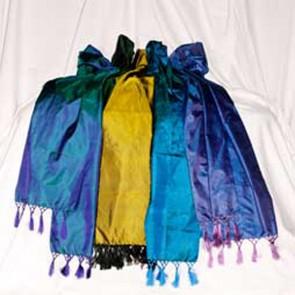 100% Hand Woven Pure Silk Shawl 1
