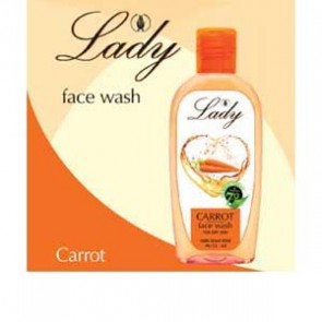 Lady Face Wash - Carrot (100 ml )