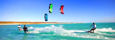 Kitesurfing in Kalpitiya on the North West Coast