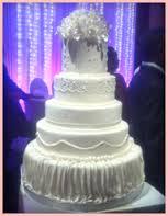 Suven's Cake Structure & Flower Decor