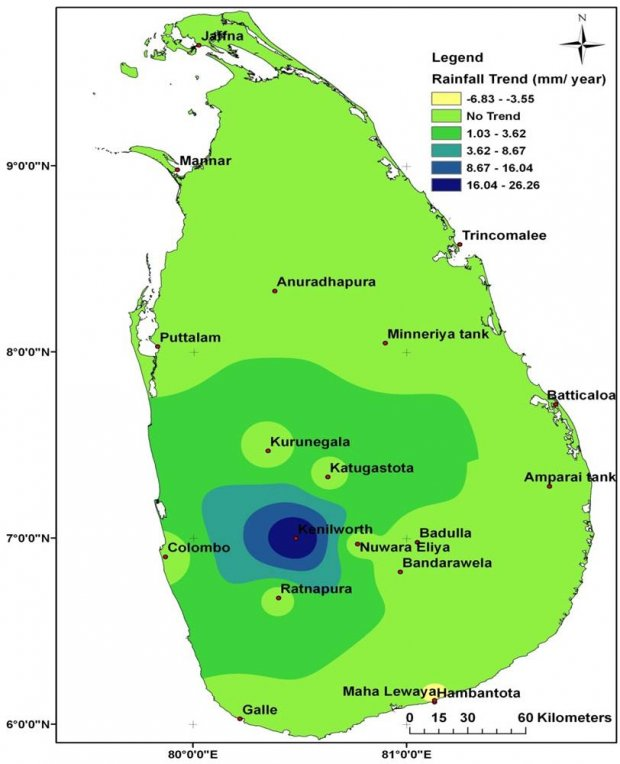 Geography & Climate of Sri Lanka