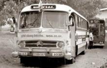 First Nationalized Bus (1958) - Sri Lanka.