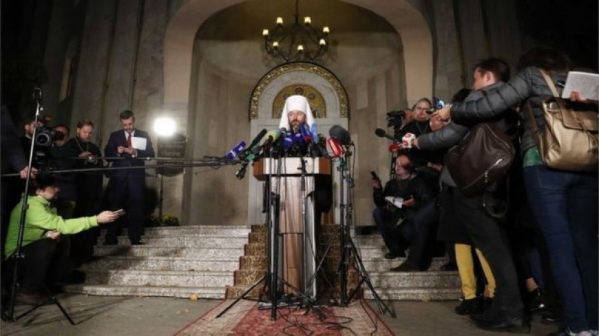 Russian Orthodox Church cuts all links with Constantinople
