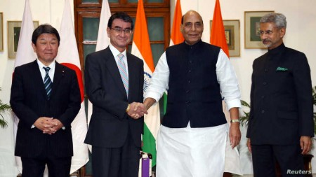 India, Japan Hold Inaugural Security Talks