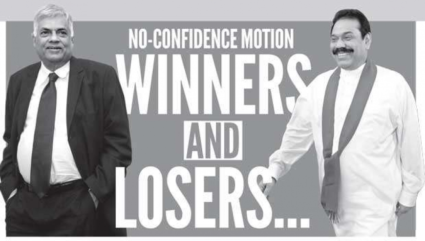 No-Confidence Motion winners and losers…